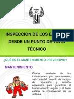 Tema 8. Inspección Técnica de Equipos.