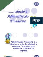 Contabilidade Gerencial Administ de Recursos Financeiros Introducao Adm Financeira