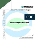 2004, Curso Superior Administracao_financeira i - Prof Aluisio