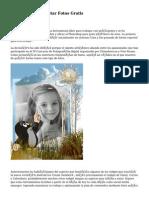 Desventajas De Editar Fotos Gratis