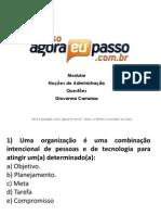 PDF AEP Modular NocoesdeAdministracao ResolucaodeQuestoes01 GiovannaCarranza