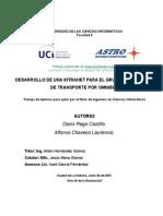 Desarrollo Intranet Grupo Empresarial 120208