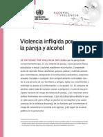 Alcohhol y Violencia y Consecuencuias
