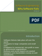L13- Why Software Fails