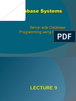 L9 L10- Server Side Programming