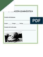 Avaluacion Diagnostica..Español y Matematicas
