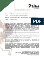 Comunicado 004 de 2013 - Beneficio Tributario Deudores Morosos