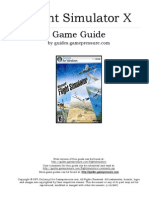 Flight Simulator X - Keyboard Commands List | Aileron | Helicopter