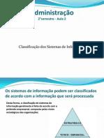 Aula2 Classificacao Sistemas Informacao