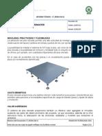 Informe Tecnico Piso Elevado Metalico