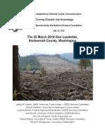 Oso, Wash., landslide report