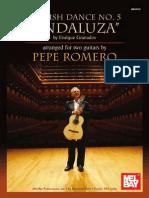 Pepe Romero - Spanish Dance No. 5 Andaluza (Duo)