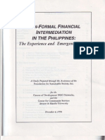 Non-Formal Financial Intermediation in the Philippines