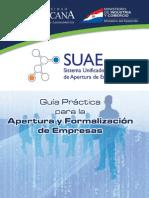 Guia Apertura Empresas SUAE