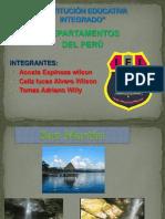 24 Departamentos Del Peru Trabajo de Wilson