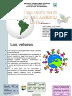 Los Valores en El Peru y en America Latina 2
