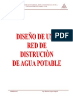 Diseñando La Red de Distribucion de Agua Potable