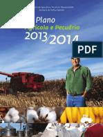 ARQUIVO 1 - Plano Agrícola e Pecuário 2013-2014 - Arquivo Completo Para Ser Dividido Entre Os Grupos