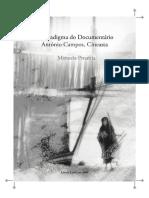 Livro Antonio Campos