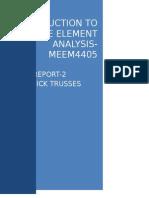 FEA Lab Report2