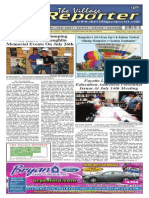 The Village Reporter - July 23rd, 2014
