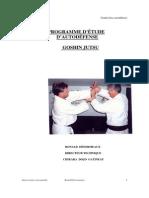 Judo Ron 84-Livre Cours de Goshin- Jutsu