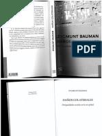 Zygmunt Bauman Daños Colaterales 1