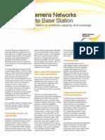 Nokia Siemens Networks Flexi Lite Base Station Datasheet 9.11.2012. Online