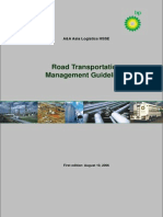 Road Transportation Mangement Guideline Version for SPA Taskforce Comments