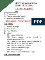 Reglamento de Baloncesto_articulos