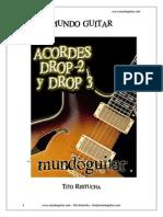 Libro Gratis Acordes Drop 2 y Drop 3