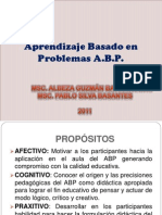 6 Aprendizajebasadoenproblemasabp 120209081313 Phpapp02