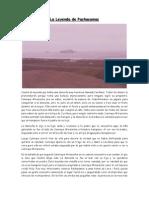 La Leyenda de Pachacamac