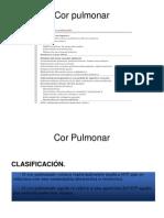 Cor Pulmonale, Etiología
