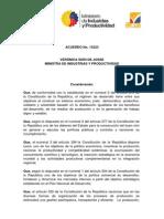 Acuerdo Ministerial 13223