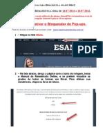 Manual Para Rematrícula Online 2014-2-2