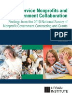 412228 Nonprofit Government Contracting