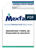DFA-RH045 Descripcion de Puesto Responsable de Laboratorio