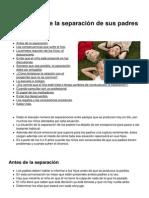 Los Ninos Ante La Separacion de Sus Padres 3902 m2d9og