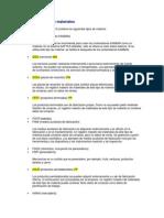 Estructura Tipos de Materiales SAP