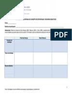 Matriz de Triple Entrada de Conceptos de Estratégias y Recursos Didácticos