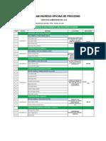 Programa de Actividades IC104 23.05.2014 Proceing