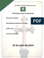Facultad de Filosofía y Teología Redemptoris Mater