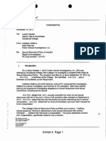 Occidental Investigative Report