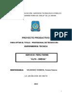 Proyecto Productivo Perú Farma