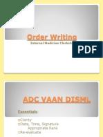 Order Writing Slides