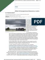 [2013] El G-8 Apoya Medidas de Transparencia Financiera y Contra La Evasión Fiscal- BBC