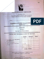 Percubaan Sains Upsr 2009 Terengganu