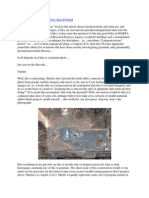Report on pyramid at Area 51