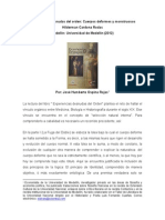 Reseña Experiencias Desnudas Del Orden by José Humberto Ospina Rojas
